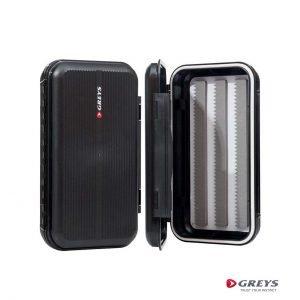 GS Waterproof Fly Box - Greys