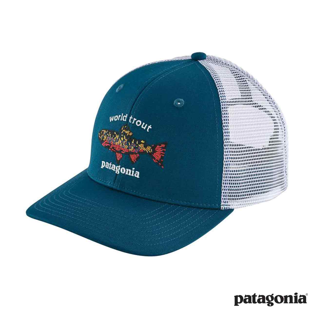 patagonia cappello  Cappello World Trout Brook Trucker - Patagonia - Like a River