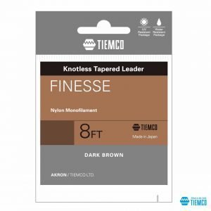 Finale conico in Nylon Finesse Leader - Tiemco