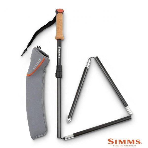 simms pro wading staff