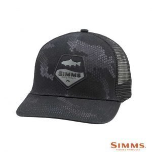 simms trout patch cap