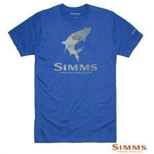 Maglia Tarpon Hex Camo T-shirt - Simms