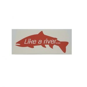 like a river decal adesivo
