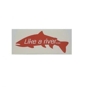 Adesivo Pesce Like - Like a river