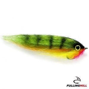 Mosca Da Luccio Dougie's Yellow Perch 4/0 - Fulling Mill