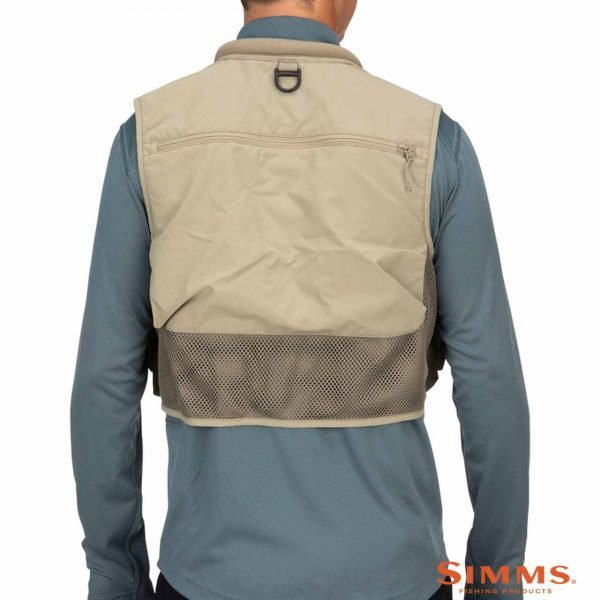 simms tributary vest tan