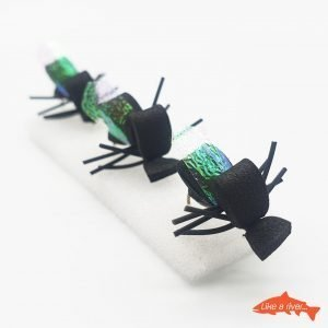 Kit 3 X Mosche Foam Beetle #12 BL - Like a river