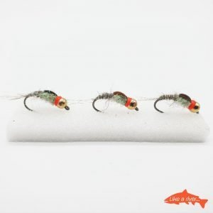 Kit 3 X Ninfe #12 BL 3,5mm Tungsteno Gold 2 - Like a river