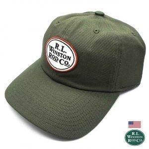 Cappello Tailwater Twill Logo Green Cap - Winston