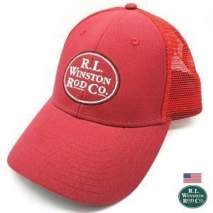 Trucker Red Cap - Winston