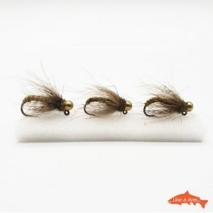 Kit 3 X Nymphs #10 BL 4,0mm Tungsten Gold – Like A River