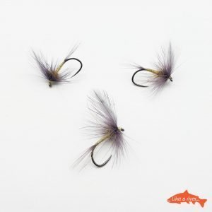 Kit 3 X Dry Flies 4 #12 BL – Like A River