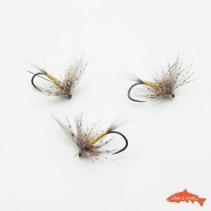 Kit 3 X Dry Flies 5 #12 BL – Like A River