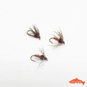 Kit 3 X Mosche Spider #12 BL - Like a river